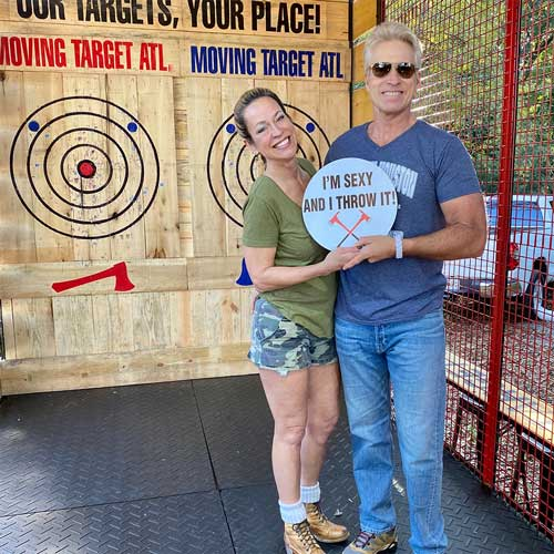 How mobile axe throwing works